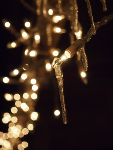 Sometimes clawing, creeping fingers of ice threaten to douse the sparkle of the season.
