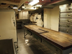 Ship's kitchen