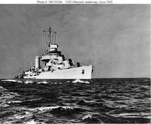 Gherardi at sea