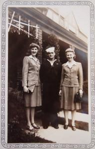 Irene, Lester and Alice, Washington, D.C. September 1942