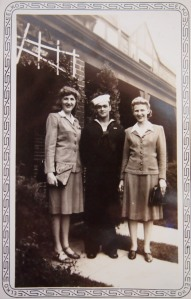 Irene, Lester and Alice, Washington, D.C. September 1942