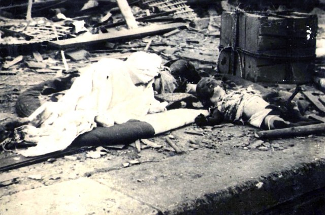 Aftermath of the bomb